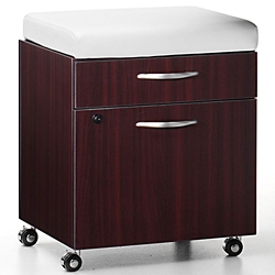 "18""W  Two Drawer Mobile Pedestal, 34941"
