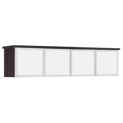 """Pimlico 70""""W Wall Mounted Hutch - Ready to Assemble, 36557"""