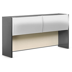 """Alloy Metal Hutch with Tack Panel - 72""""W, 36591"""