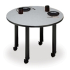 "42"" Diameter Mobile Round Conference Table, 40443"