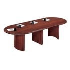 "Oval Conference Table - 120"" x 46"", 40509"