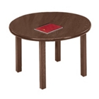 "Round Conference Table with Casters - 42"" Diameter, 40515"