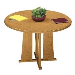 """Contemporary Round Conference Table - 36"""" Diameter, 40526"""