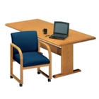 "Contemporary Rectangular Conference Table - 8' x 3'6"", 40568"