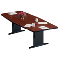"Boat Shape Conference Table - 120"" x 48"", 40584"