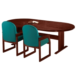 """Oval Conference Table - 96"""" x 42"""", 40628"""