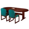 "Oval Conference Table - 96"" x 42"", 40628"