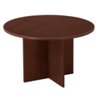 "48"" Round Table with Cross Base, 40765"