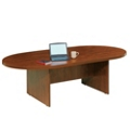 6' Oval Conference Table with Data Port, 45021