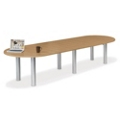 12' W Racetrack Conference Table, 40943