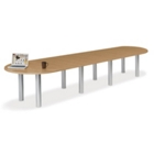 16' W Racetrack Conference Table, 40944
