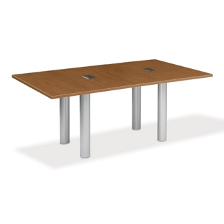 8' W Conference Table with Data Ports, 40948