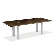 10' W Conference Table with Data Ports, 40949