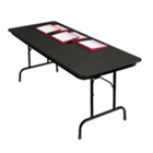 "Heavy-Duty Rectangular Folding Table  - 30"" x 72"", 41092"