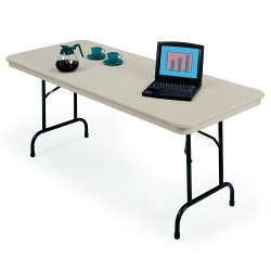 Rectangular Folding Tables Rentals of Chicago Illinois