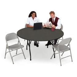 "Folding Table 60"" Diameter, 41322"