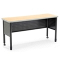"59"" x 20"" Training Table with Perforated Modesty Panel, 41396"