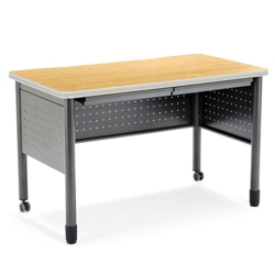 """59""""W Table Desk with Drawers, 41397"""
