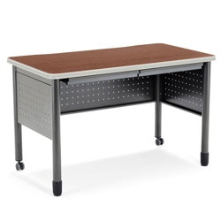 """55""""W Table Desk with Drawers, 41398"""