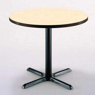 "42"" Round X-Base Breakroom Table, 41408"