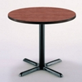 "36"" Round X-Base Breakroom Table, 46202"