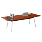 "96"" x 42"" Rectangular Table with Shelf, 41460"