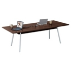 "96"" x 42"" Rectangular Table with Data Ports and Shelf, 41471"