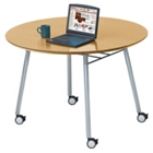 "48"" Round Conference Table with Casters, 41474"