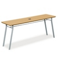 "72""W x 20""D Utility Table with Data Port, 41482"