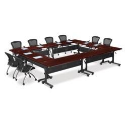 Square Mobile Nesting Table Set, 41500