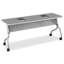"FLEX Rectangular Training Table - 72""x24"", 41512"