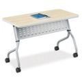 "FLEX Rectangular Training Table - 48""x18"", 41854"