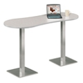 "Peanut Shaped Bar Height Table - 72"" W x 30"" D, 41524"