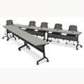Nesting V-Shape Training Table Set, 41545