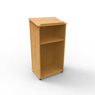 "Mobile 46""H Lectern, 43386"