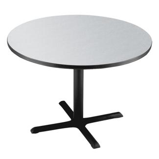 "Breakroom Table with Painted Base - 42"", 44126"