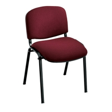 Armless Stack Chair with Oversized Seat, 44135