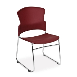Armless Plastic Shell Stack Chair, 44178