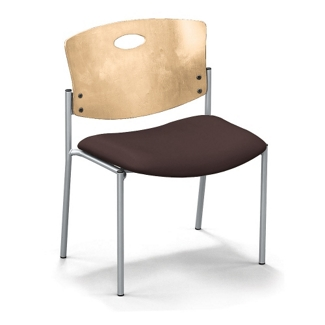 Strata Extra-Wide Chair without Arms, 44251