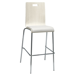 Barista Cafe Height Stool with Padded Seat, 44391