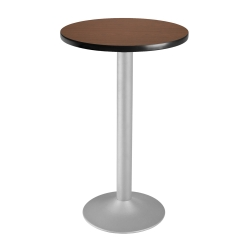 "24"" Round Flip-Top Cafe Table with Pedestal Base, 44566"
