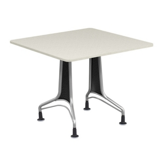 """36"""" Square Table with Perforated End Panels, 44582"""