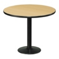 "Cafe au Lait 36"" Round Standard Height Table, 44603"