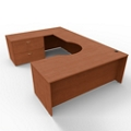 """Corner U Desk with Right Return and Lateral File - 72""""W x 108""""D, 45002"""