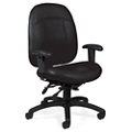 Mid-Back Chair in Standard Leather, 56459