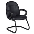 Guest Chair in Premium Leather, 56462