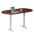 "Frappe Oval Bar Height Table - 72""W , 46019"