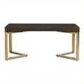 "Writing Desk with Gold Leaf Frame - 66.3""W, 10012"