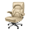 Big and Tall Office Chair in Fabric or Faux Leather, 50054