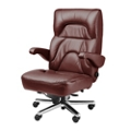Big and Tall Office Chair in Genuine and Faux Leather, 50055